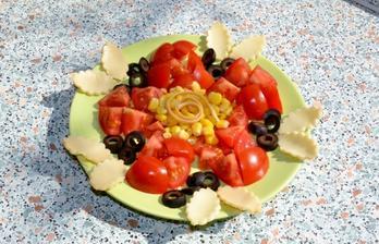 zeleninovo-syrovy tanier pre nasu sofi :)