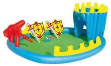 Nafukovací bazén - hrad,