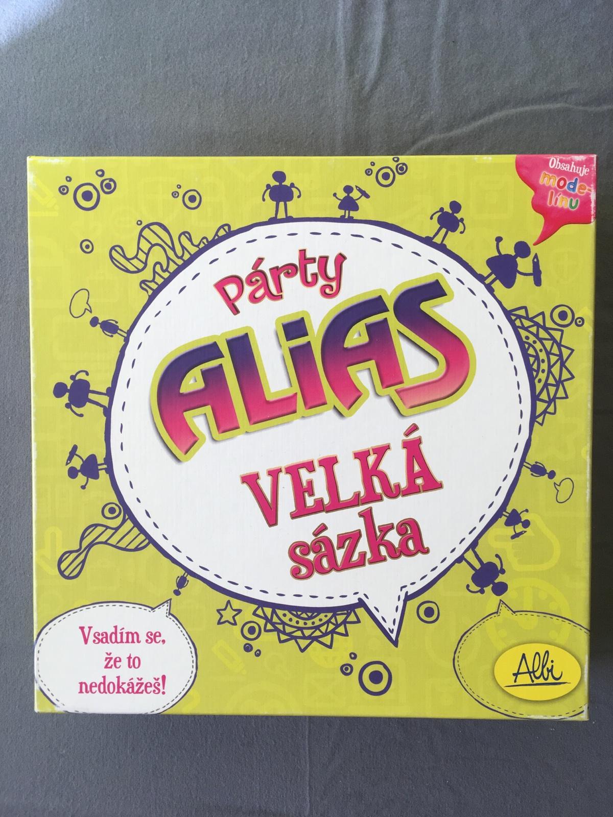 e4dd558c1 Spoločenská hra párty alias cz, - 7 € od predávajúcej misslondonova |  Detský bazár | ModryKonik.sk