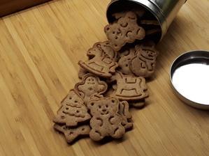 Datľovo škoricové sušienky
