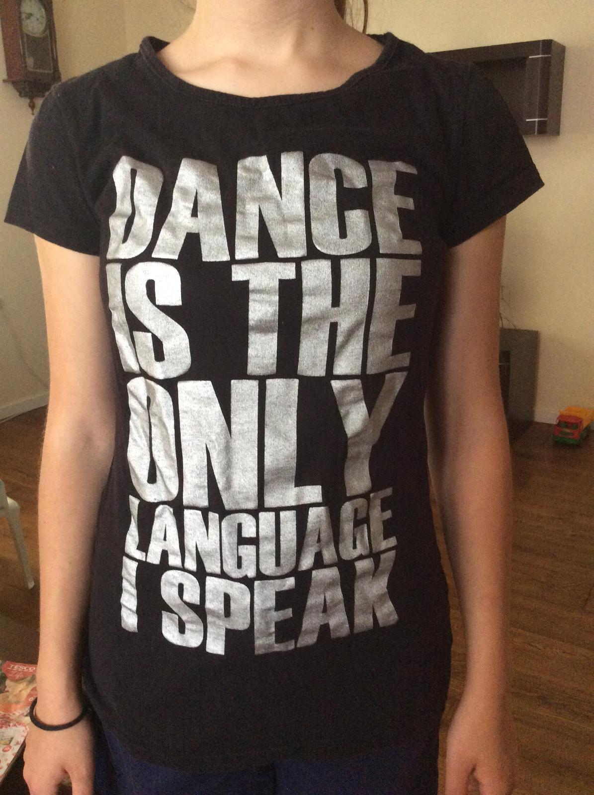 d9bcef7aec30 Čierne tanečné tričko