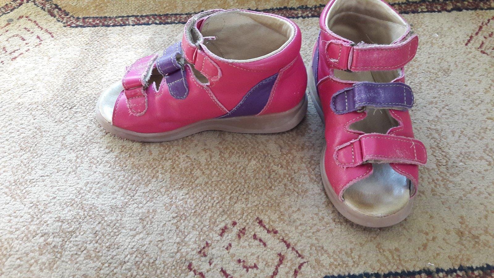 Ortopedické sandálky 245bc5f8055