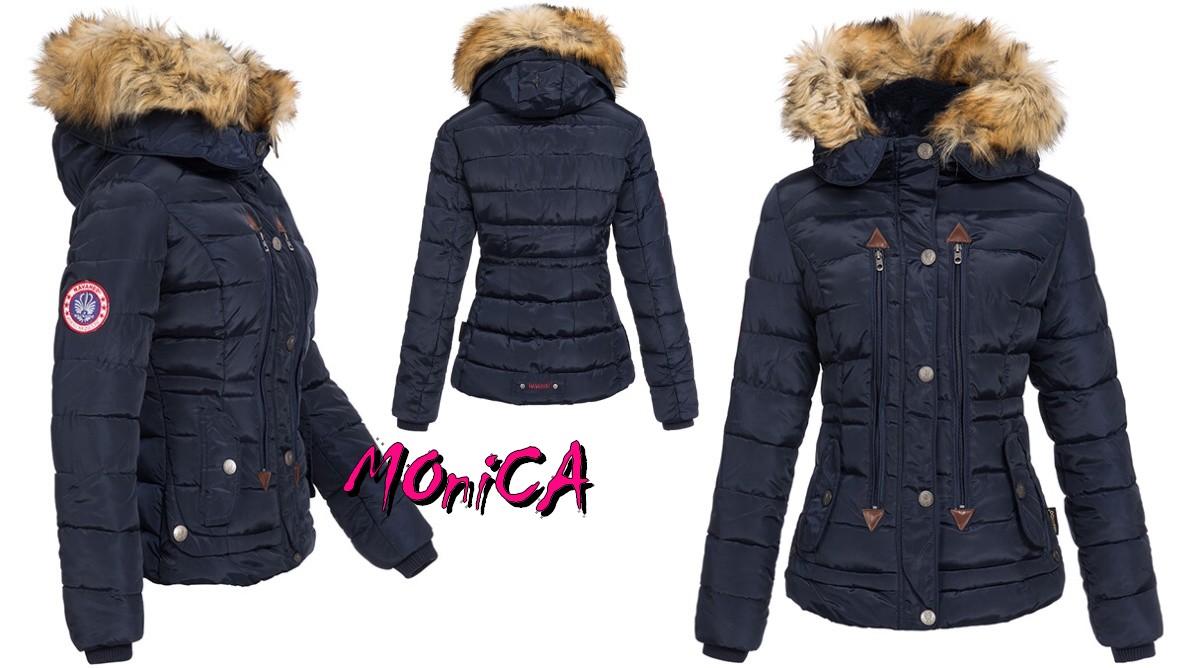 99354c515178 Luxusná dámska zimná bunda - slim - 3 farby