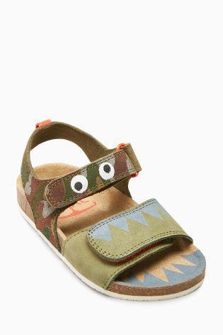 812ce6a5397e Next kozene korkove sandale