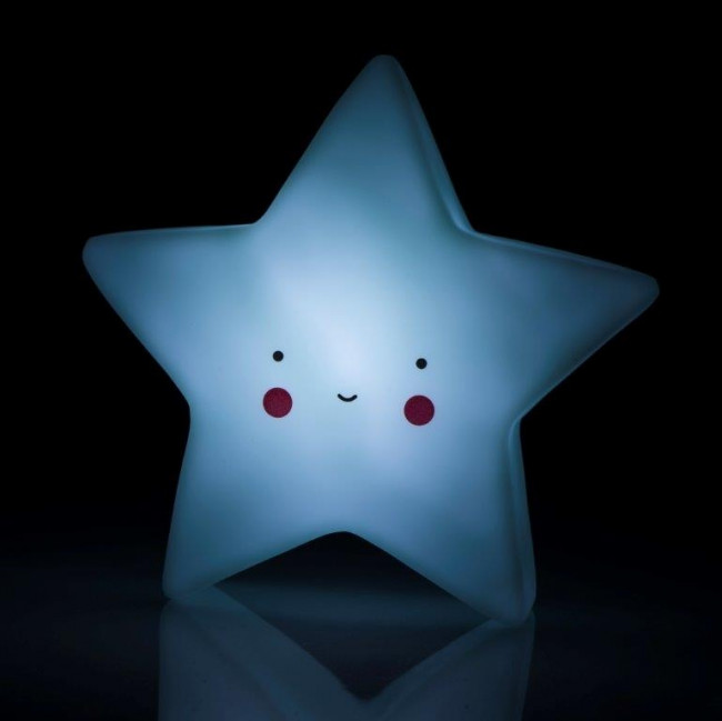 762f91cf3 Trojrozmerná led lampa detská, zelená hviezda, - 8 € od predávajúcej ...
