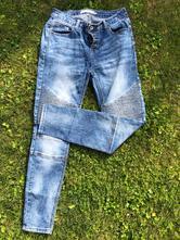 Dámske džínsy s aplikáciou na kolenách, amisu,m