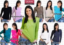 Dámske elegantné tričko. s-xxl zn. valente, l / m / s / xl / xxl