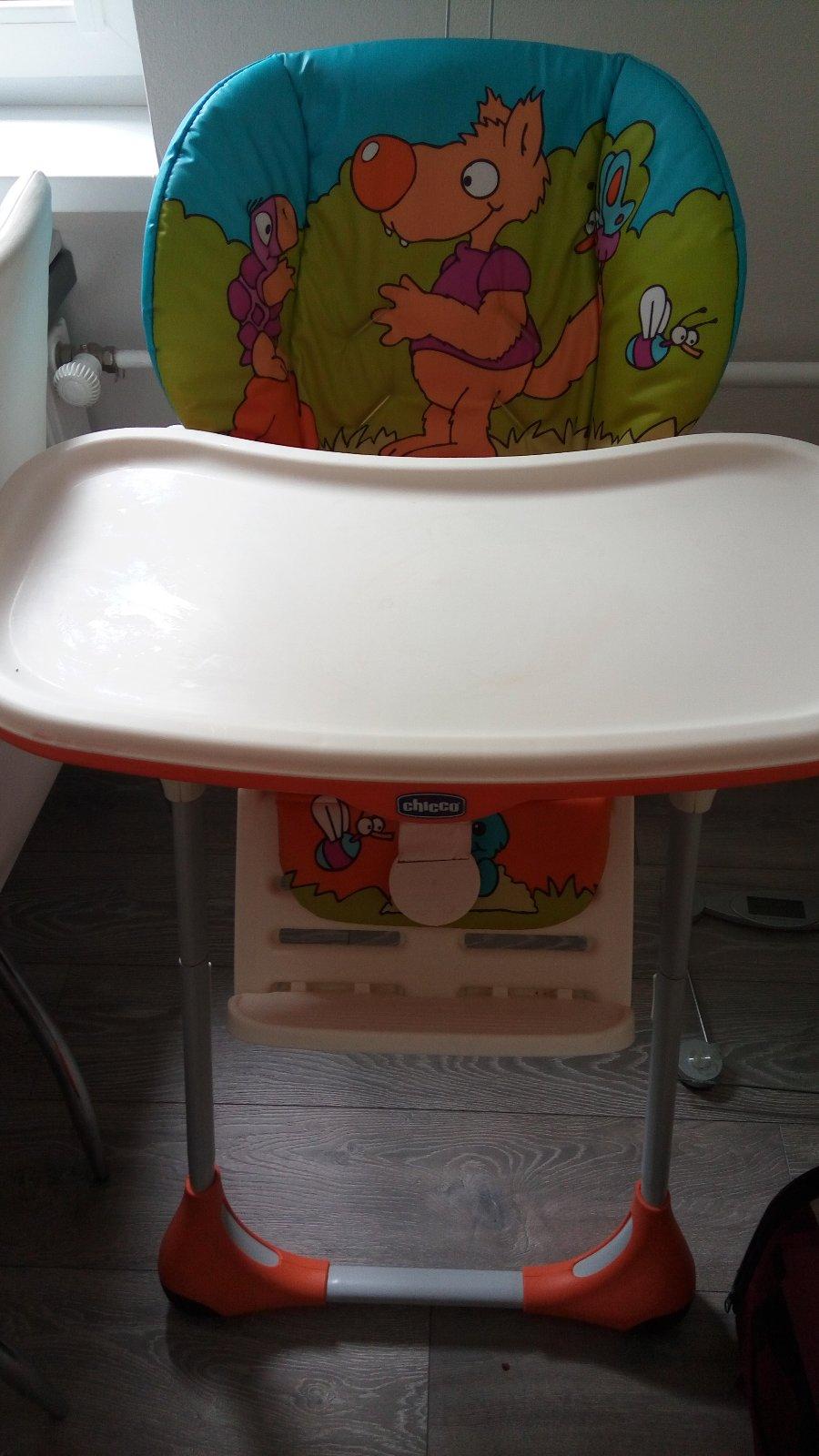 Stolička na kŕmenie značka chicco, - 40 € od predávajúcej zuzubb007 |  Detský bazár | ModryKonik sk