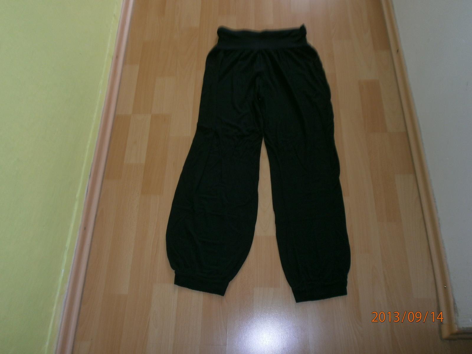 8580b6a22def dámske čierne pohodlné háremové nohavice