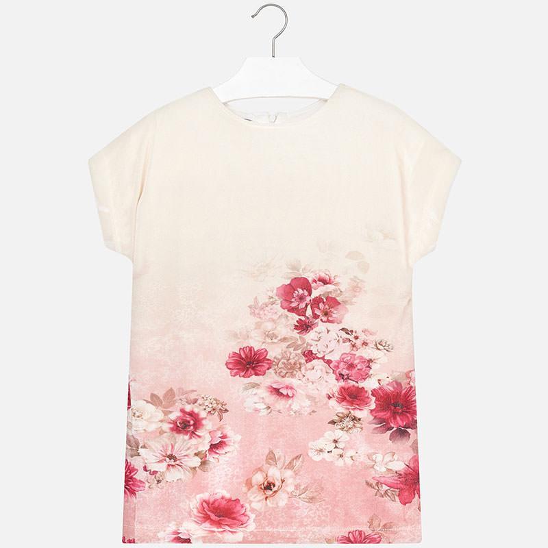 01e43e21bdf9 Mayoral dievčenské šaty tunika -7930-64 pink