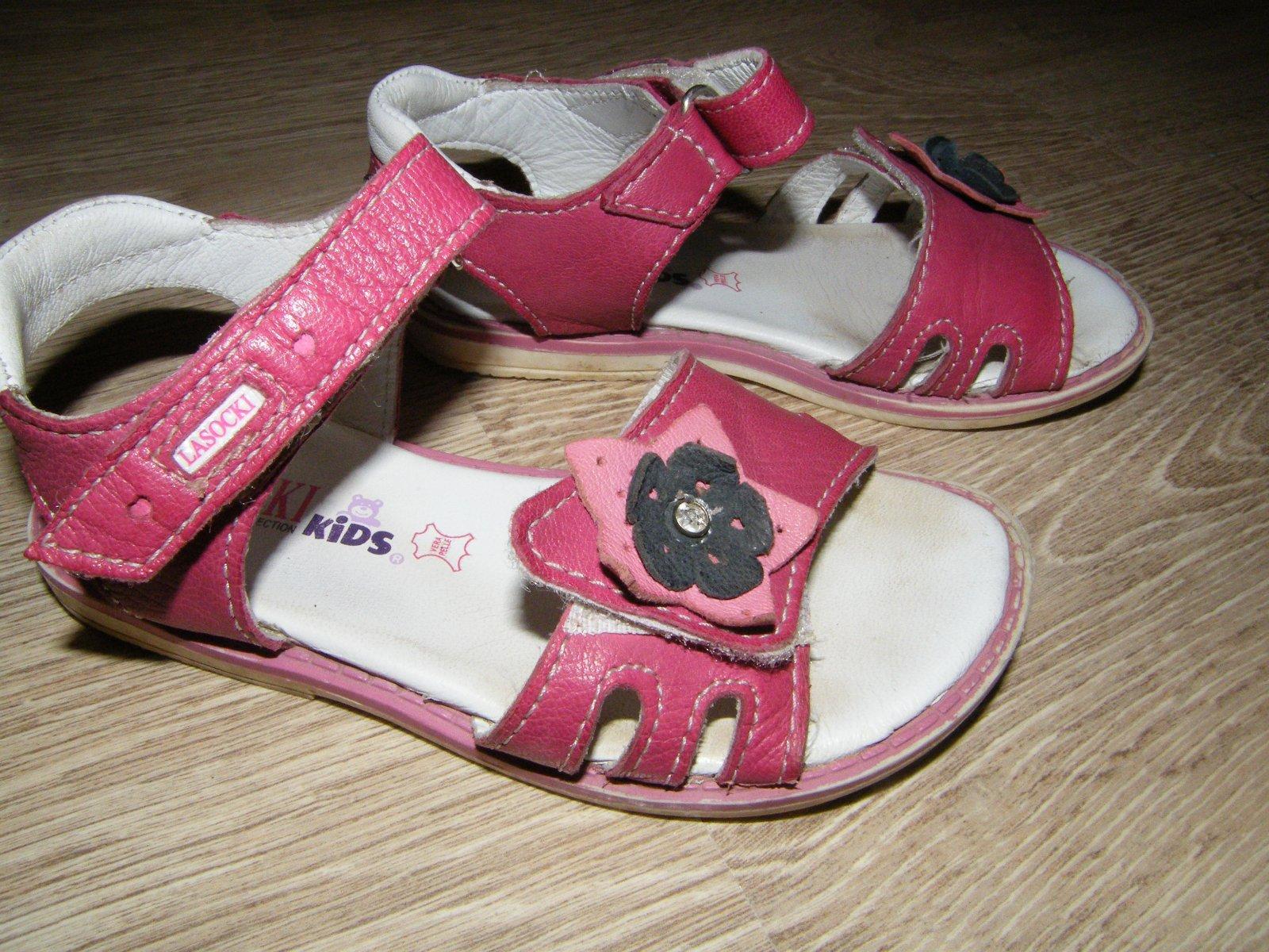 db8f513d72 Kožené sandálky - lasocki - ccc obuv-výborný stav