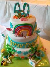 na oslavu 40. vyrocia materskej skoly- darcek pre kolegyne