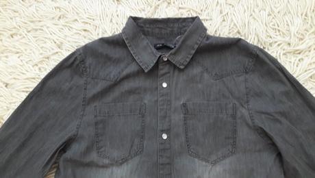 35e5e8cd260c Dievčenská riflová košeľa