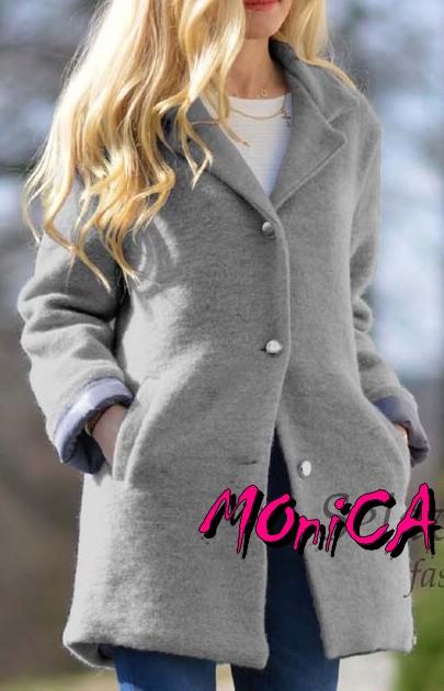 Dámsky jarný kabátik - oversize - viac farieb 4b212f34615