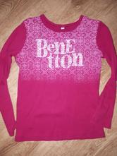 Tričko dlhý rukáv, benetton,122