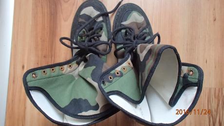 Vojenské maskáčové topánky 74a10302dca