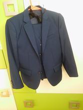"Chlapcensky detsky oblek ""namornicka modra"", kids fashion,146"
