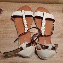 Biele sandale, 39
