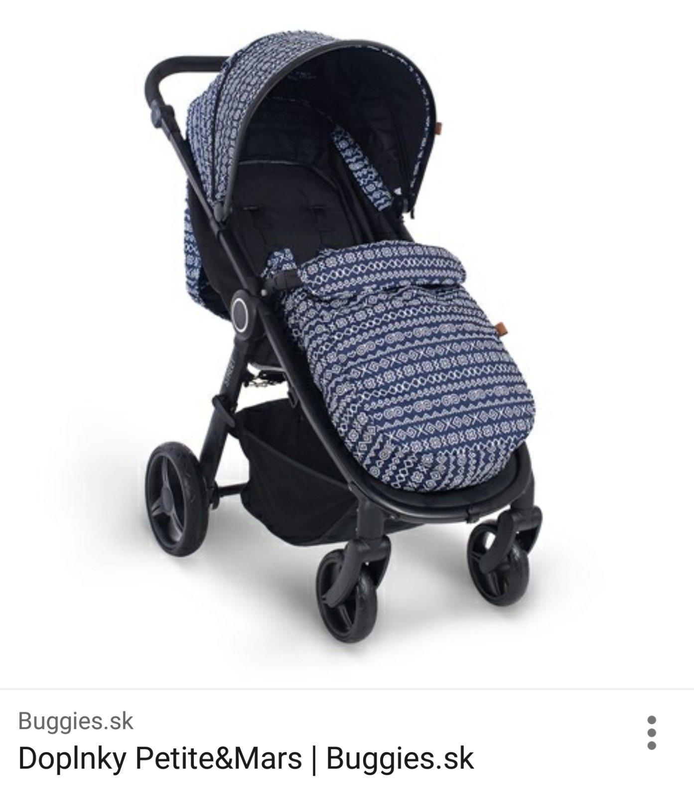 Kočík Britax verzus Petite Marse - Modrý koník 3a8c91c67a8