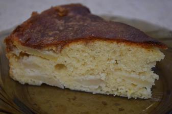 Jablkový koláč so škoricovou polevou