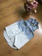 Rifľová košeľa bez rukávov, gate,s
