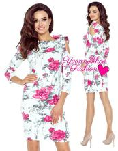 Úžasné dámske šaty bergamo, l / m / s / xl / xs