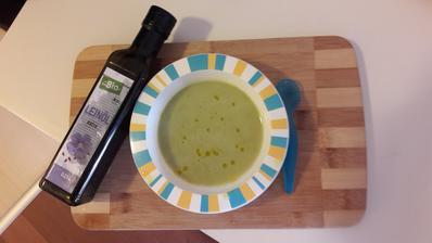 Luskova s ryzovou smotanou - par kvapiek lanoveho oleju na dokoncenie