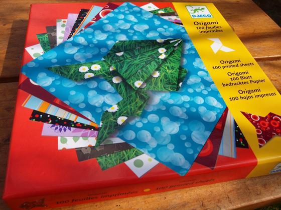 Origami Blaetter , Origami 100 Listov