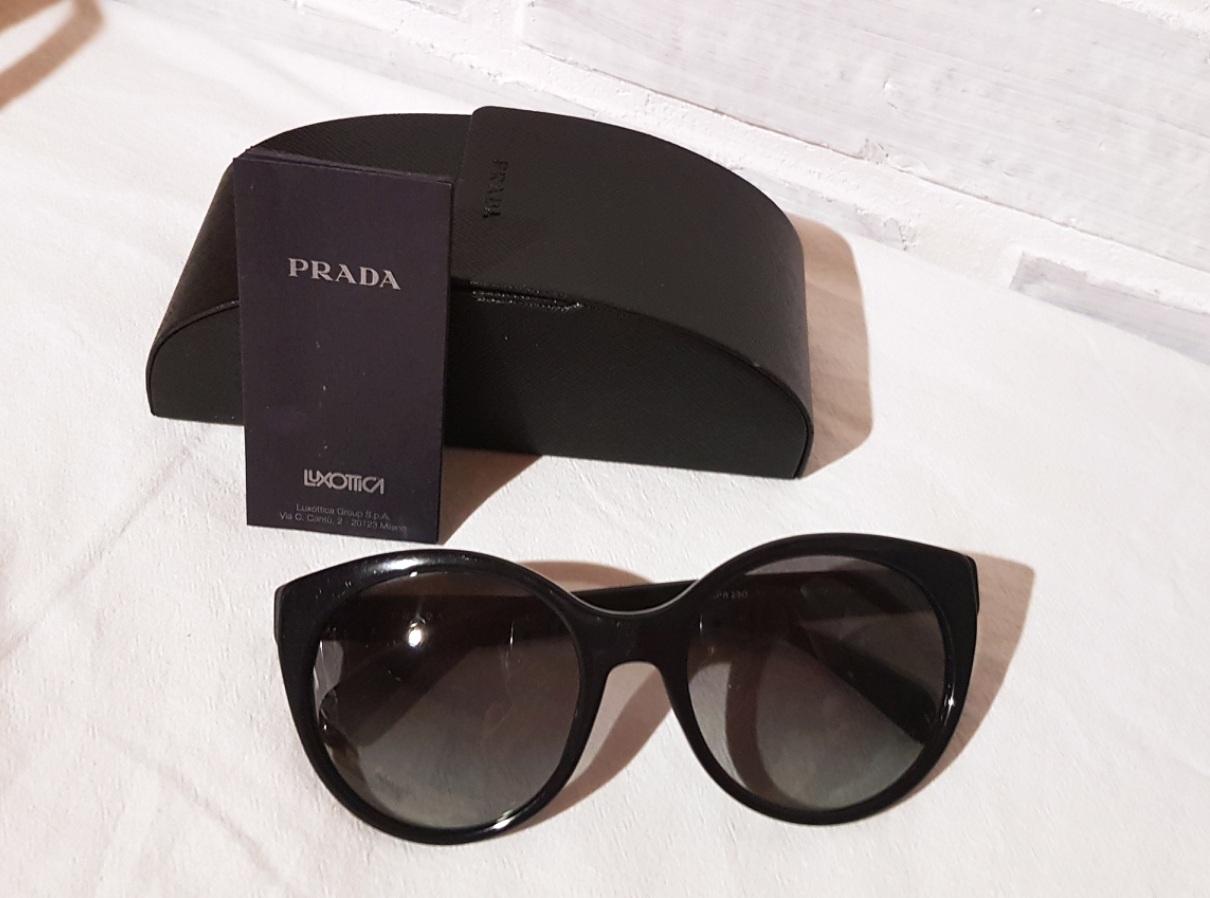 Prada black diva slnečné okuliare 6fee343856e