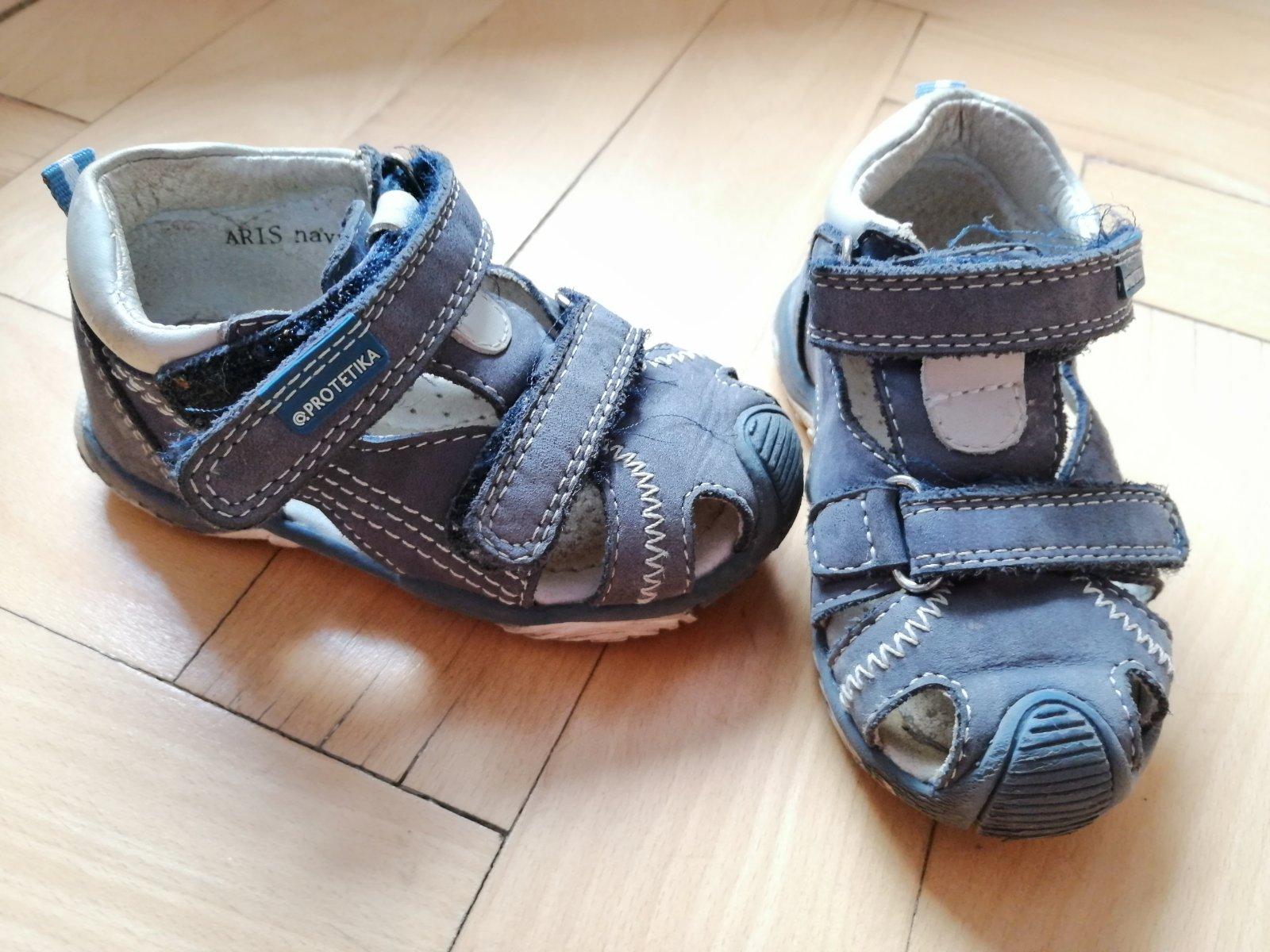 daa12739a34f Chlapčenské sandále protetika