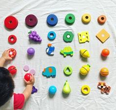 Kreatívne triedenie farieb - rozoznávanie farieb, logika, motorika, sústredenie, vytrvalosť 👍🏼