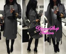 Úžasný dámsky jarný kabátik, l - xxl