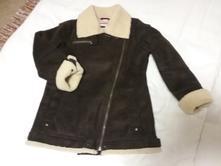 Zimna bunda z umelej kožušiny, 140
