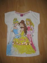 Tričko s princeznami, disney,128
