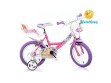 """Detský bicykel 16"""" dino 164rwx wings so sedačkou ,"""