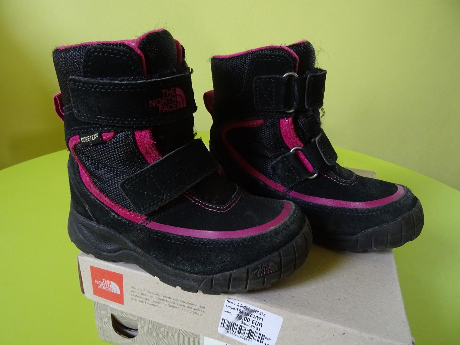 3c0c01dc7c19 Kvalitné zimné topánky značky the north face