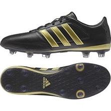Kožené kopačky adidas +chrániče, adidas,39