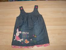 Šaty, prípadne šatovka, disney,80