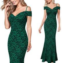 Čipkované šaty xs - 3xl - 2 farby, l - xxxl