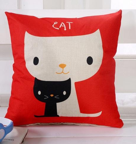 Čierna n biela mačička