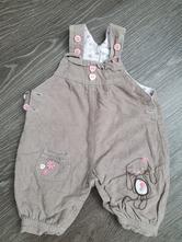 Zateplené menšestrové nohavice, baby,56