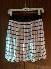 Sukňa čierno-biela 38, h&m,38