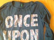 Tmavozelenej tričko, benetton,122