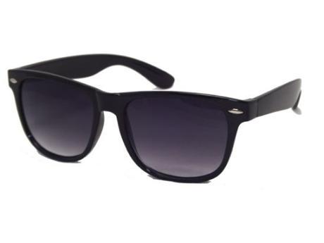 Štýlové slnečné okuliare wayfarer čierne 3dd2a91b604