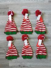 Vianočná čiapka elf, <50 - 98