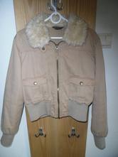 Prechodná bunda s kožušinkou, primark,40