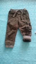 Zateplene nohavice, lupilu,98