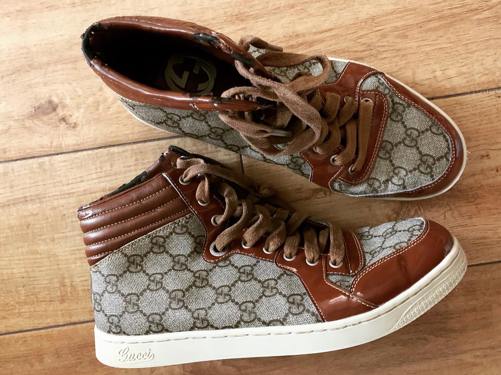 7d8a20185 Gucci tenisky, gucci,42 - 20 € od predávajúcej halushkaaa | Detský bazár |  ModryKonik.sk