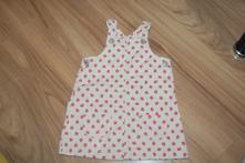 Šaty jahodkove, h&m,80