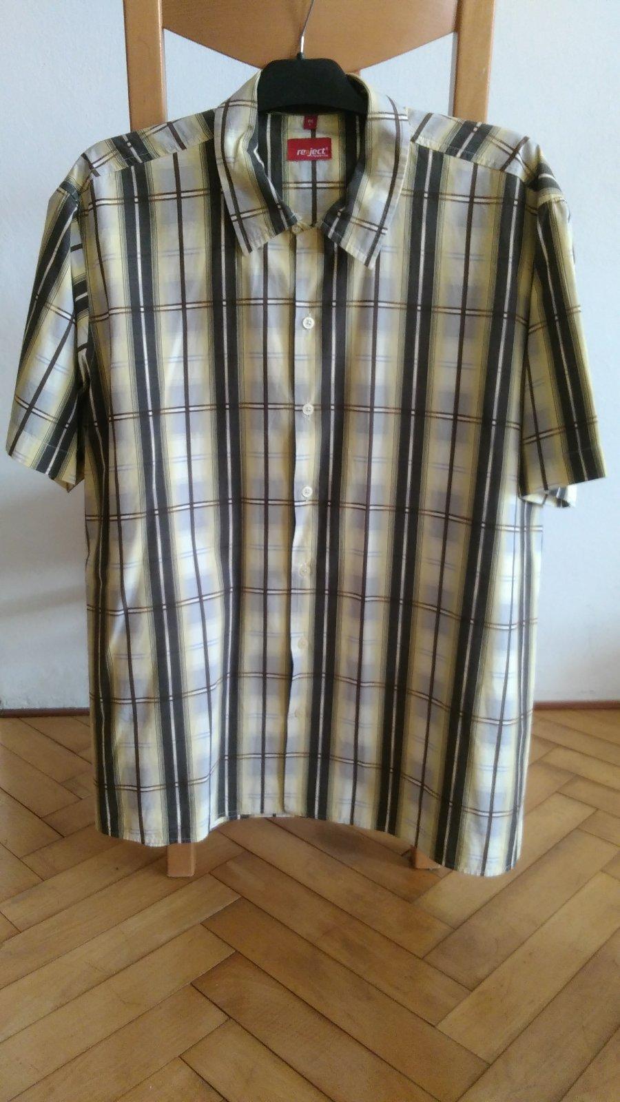 c3a85cf5024b Pánska košeľa s krátkym rukávom 52 54 nová